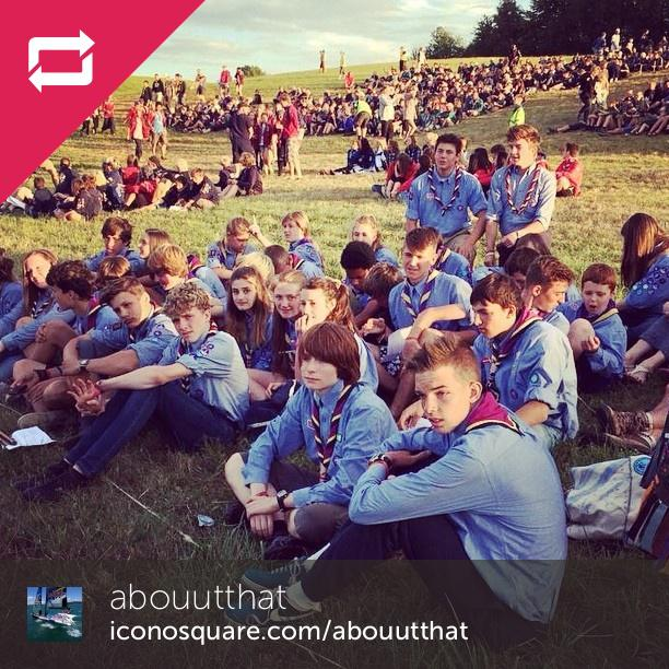 E2014 @mbethellrtfq #jamboree #e2014 #scouts #person #people #denmark #scan - Foto: abouutthat