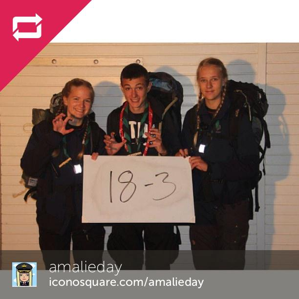 Thank you for this time #nathejk #nathejk2014 #scout #scouting #vierseje - Foto: Amalieday