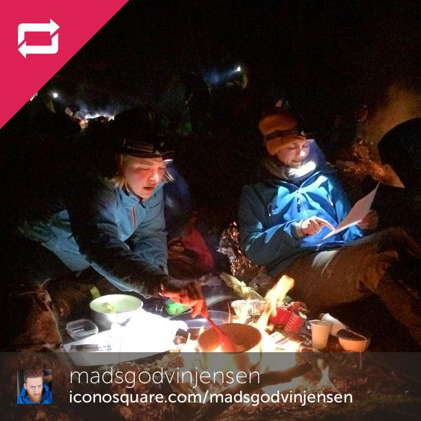 Cooking in the dark #spejder #alligatorløbet #söderåsen #adventurespejd - Foto: Madsgodvinjensen