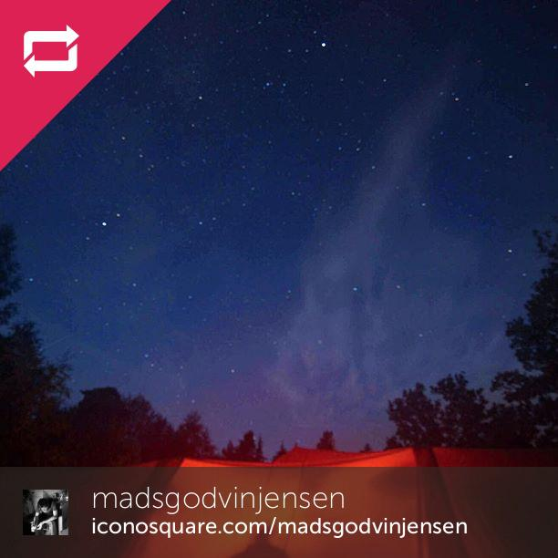 Starry night #kragenäs #sverige #welcometonature #spejder - Foto: Mads Godvin Jensen