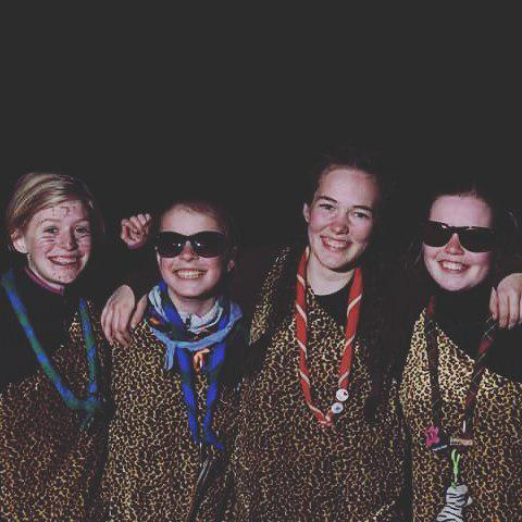 My girls love you guys  #powerpuffpigerne #life #girl #scout #friends #friendships #smile #family #happy #me #proudtobescout #toggp16 #spejder #veninder #stumtQ #toggerbo  - Foto: Maikenbrix